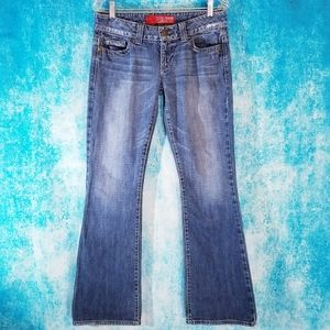 Y2K Guess Daredevil Flare Denim Jeans